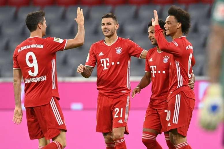 El Bayern barrió al Schalke 04. AFP