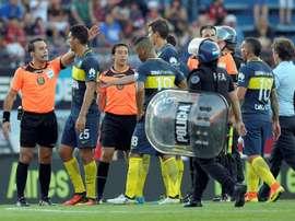Juan Insaurralde ha despertado el interés de Colo Colo. AFP
