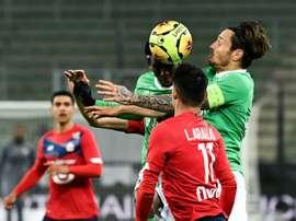Lyon et Monaco se rapprochent du PSG, Lille rate le coche. AFP