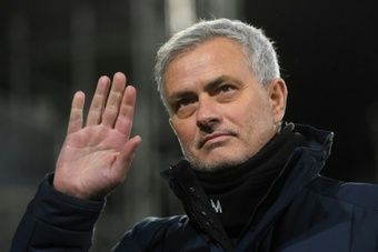 Mourinho triste après l'élimination du Portugal. afp