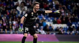 Luca Zidane tem vínculos atuais se encerrando neste mês. AFP