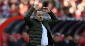 Manuel Baum, nuevo entrenador del Schalke 04. AFP