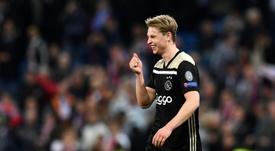 De Jong arrivera à Barcelone cet été. AFP