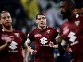Le Torino ne lâche pas non plus. AFP