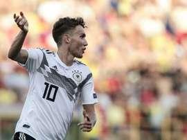Benfica veut la star allemande de l'Euro Espoirs. AFP