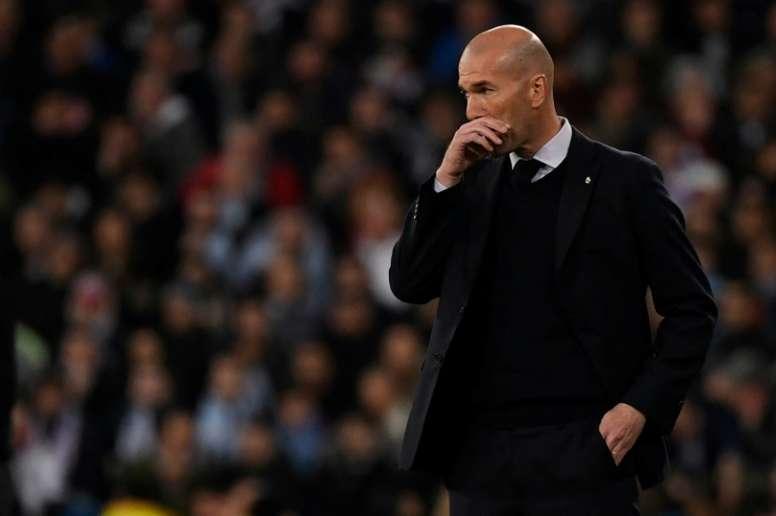 PSG estaria disposto a tentar Zidane. AFP