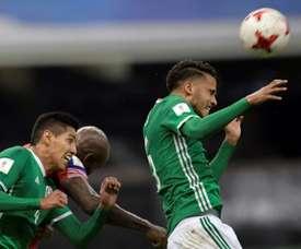 Hugo Ayala no jugará con su compañero en Rusia. AFP