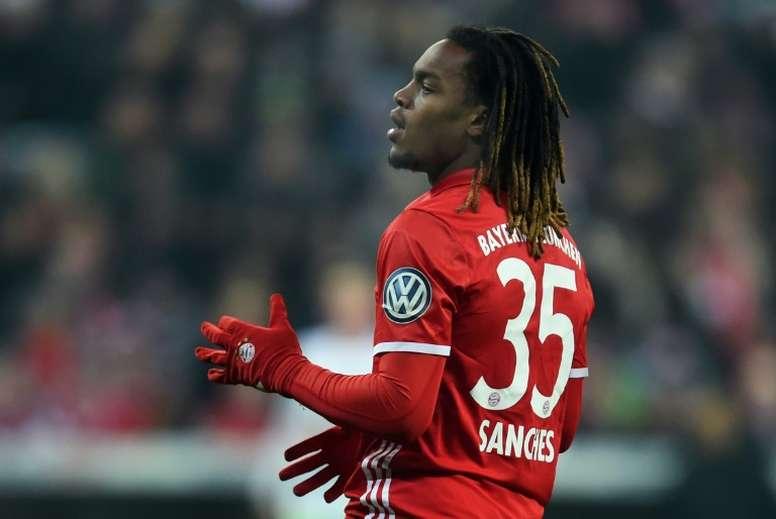 O médio de 19 anos não teve o ano mais feliz na Bundesliga. AFP