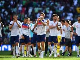Vitória dos donos da casa em teste antes da Copa. AFP