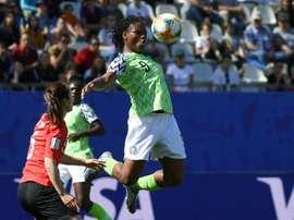 Nigeria, une capitaine nommée Desire. AFP