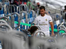 Hazard worries Real Madrid. AFP