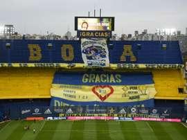 Maradona: hommage de Boca Juniors à la Bombonera sous les yeux de sa fille Dalma. AFP