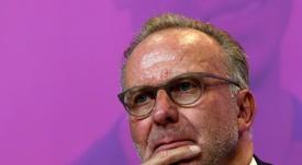 El 'tirón de orejas' de Rummenigge al Schalke 04. AFP