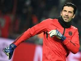 Buffon se méfie de Madrid en Ligue des champions. AFP