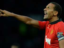 Ferdinand won the 2007/08 Champions League with Untied. AFP
