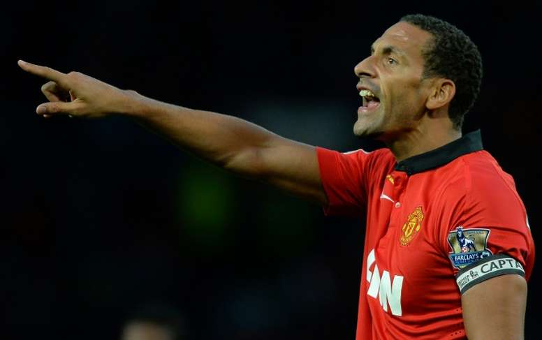 Rio Ferdinand made it into the all-star squad. AFP