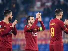 Le incognite della Roma in fascia. AFP