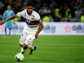 Fekir opened the scoring from the penalty spot. AFP