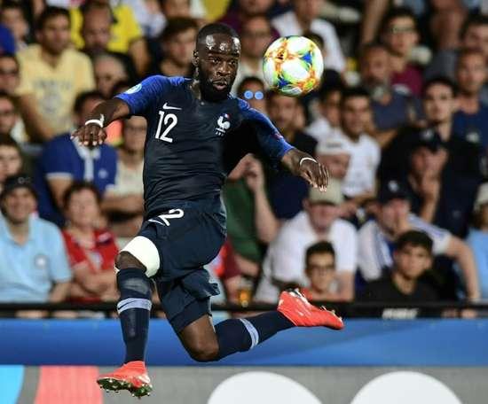 Le milieu français Jonathan Ikoné, le 18/06/2019. AFP