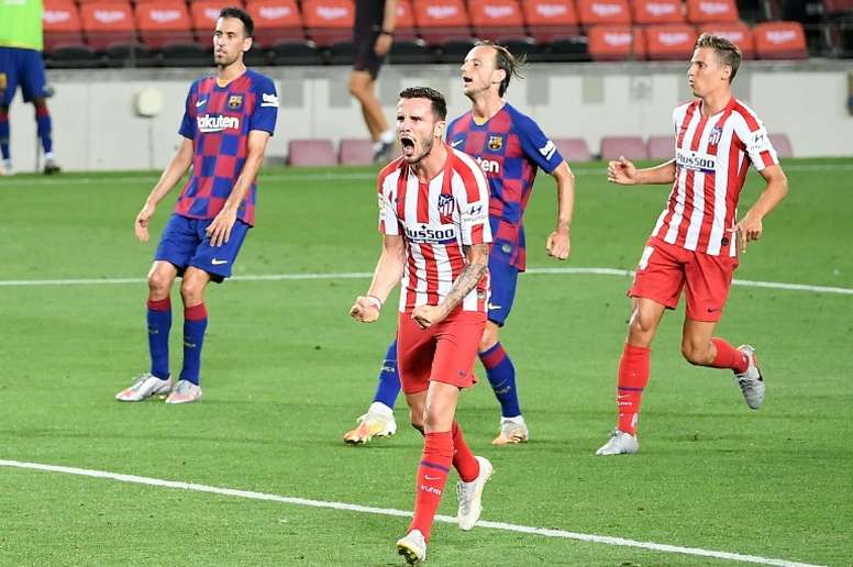 L'Atlético sur sa lancée vers la Ligue des champions ? AFP