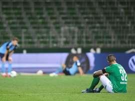 Le Werder Brême, monument en péril de la Bundesliga. AFP
