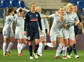 Montpellier s'incline face à Chelsea. AFP