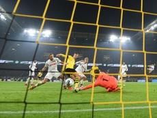 Dortmund en patron contre Cologne, Haaland encore buteur. AFP