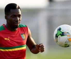 Le Camerounais rejoint Montpellier. AFP