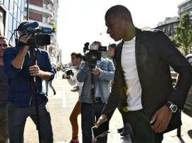 Mbappé connaitra la décision demain. AFP