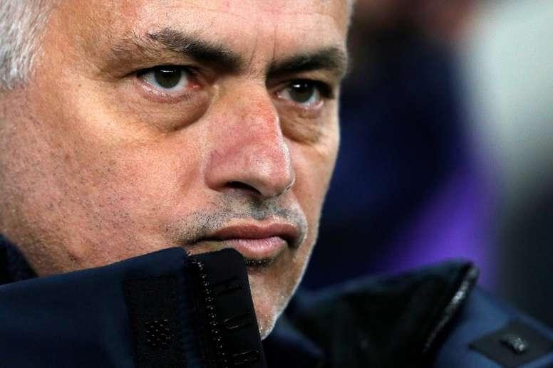 Mourinho à la recherche de ce qui faisait de lui un 'Special One'. AFP