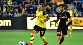 Götze não continuará no Borussia Dortmund. AFP