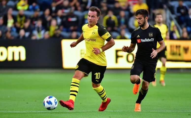 Götze non continuerà nel Borussia. AFP