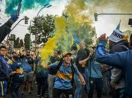 Supporters de Boca Juniors, à Buenos Aires. Goal