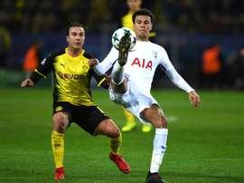 Götze pourrait connaître la Premier League. AFP