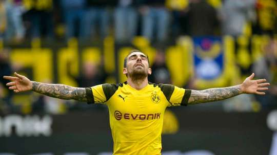 Paco Alcacer is on fire at Borussia Dortmund. AFP