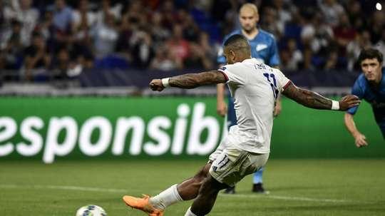 Nul heureux de l'Inter face au Slavia. AFP