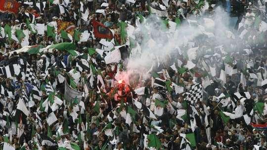 Enquête sur la sécurité du football en Algérie. AFP