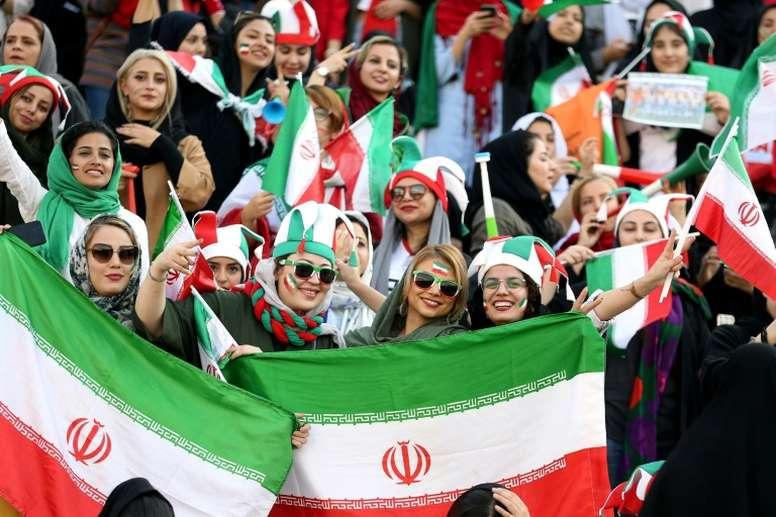 Irán venció y firmó una justicia social para las mujeres. AFP