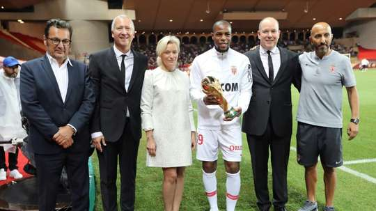 Sidibé aurait aimé quitter Monaco. AFP