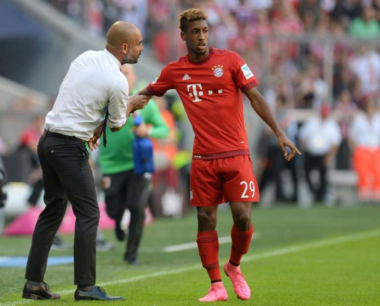 Bayern are likely to sign Coman on a permanent deal. AFP