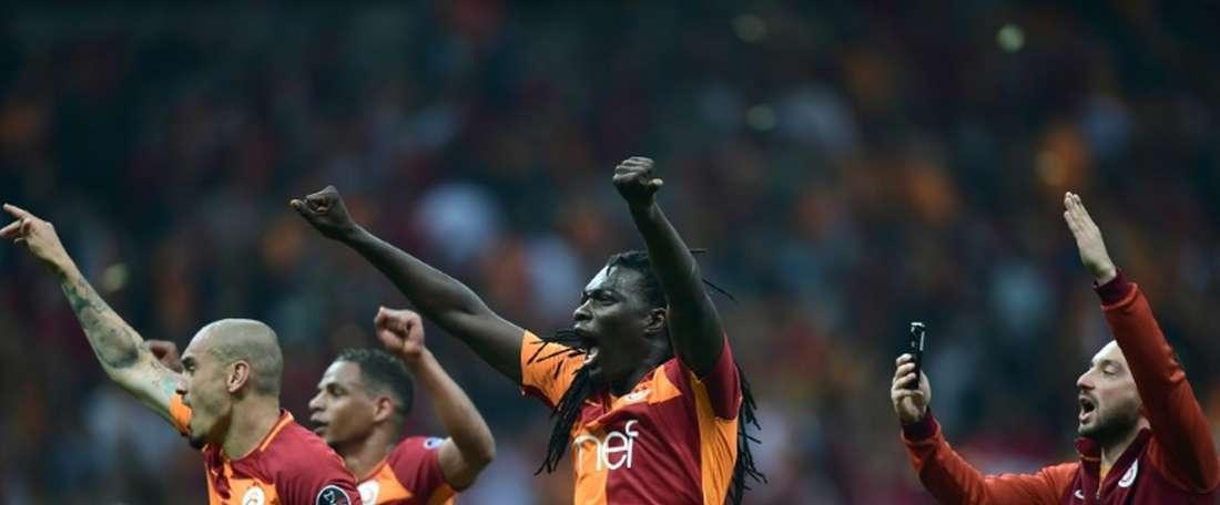 Galatasaray a predu 3-0 contre Akhisar. AFP