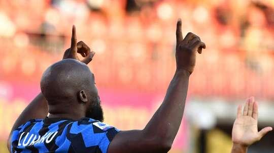 Antonio Conte est pessimiste pour Romelu Lukaku. AFP