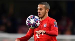 Liverpool aurait trouvé un accord avec Thiago Alcantara. AFP