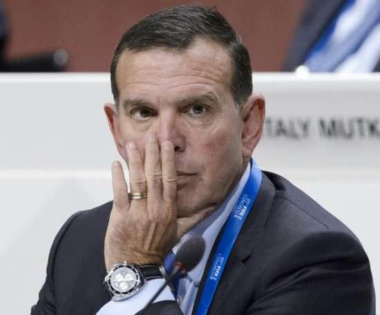 L'ex-président de la Conmebol, détenu à Miami, a contracté le Covid-19. AFP