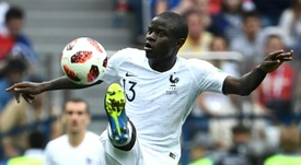 The French midfielder has been a star of his nation's World Cup. AFP