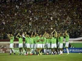 L'Algérie cherche à se qualifier. AFP