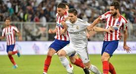 El Madrid le sigue buscando destino a Jovic. AFP