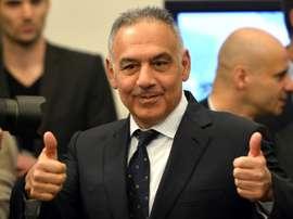 Le président de l'AS Rome, James Pallotta. AFP