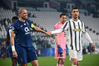 Juventus v Porto would have gone to penalties next season. AFP