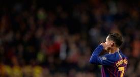 Agente de Coutinho garante que não permite que o Barça minta ao jogador. AFP